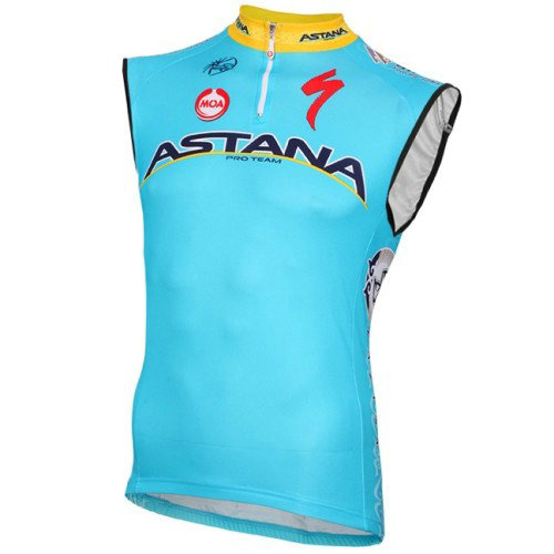 2016 Equipe Astana Maillot Sans Manches