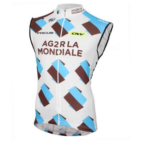 Maillot Sans Manches 2017 Equipe Ag2r