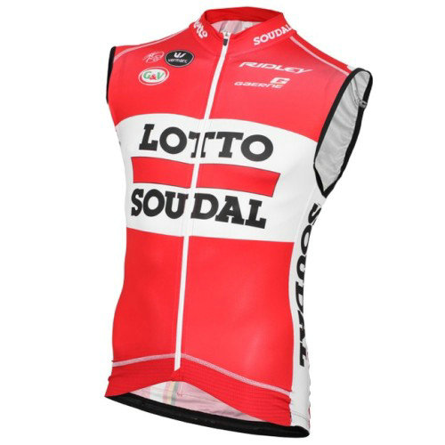 2016 Lotto Soudal Maillot Sans Manches