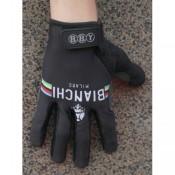 2014 Bianchi Champion Noir Thermal Gant Cyclisme Nouvelle