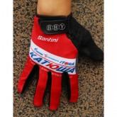2014 Team Katusha Rouge Thermal Gant Cyclisme En Soldes
