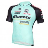 2016 Bianchi Active-TX Vert clair Maillot Cyclisme Manche Courte Magasin De Sortie