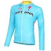 2016 Equipe Astana Maillot de Cyclisme Manche Longue Original