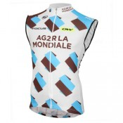 2017 Equipe Ag2r Maillot Sans Manches France Magasin