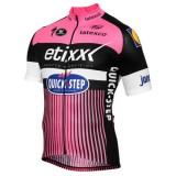 Achat Maillot Cyclisme Manche Courte Etixx-Quick Step TDF Edition Rose 2017