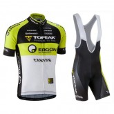 Achat de Equipement 2017 Tenue Maillot Cyclisme Courte + Cuissard à Bretelles Equipe Topeka Ergon