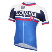 Acheter Maillot Cyclisme Manche Courte Slovaquie Equipe 2016