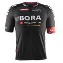 Achetez Maillot Cyclisme Manche Courte Equipe Bora Argon 18 Noir 2017