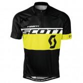 Achetez Maillot Cyclisme Manche Courte Scott Equipe Noir-Jaune 2017