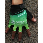 Authentique 2014 Craft Orica Vert Edge Gant Cyclisme