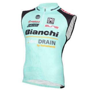 Authentique 2016 Bianchi Active-TX Vert clair Maillot Sans Manches