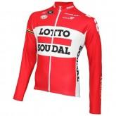 Authentique Maillot de Cyclisme Manche Longue Lotto Soudal 2016