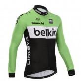 BELKIN Equipe Maillot de Cyclisme Manche Longue à Petits Prix