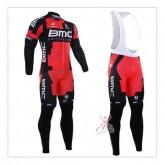 Boutique BMC Tenue Maillot Cyclisme Longue + Collant à Bretelles Paris