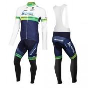 Boutique Equipement 2016 Orica GreenEdge Tenue Maillot Cyclisme Longue + Collant à Bretelles En Ligne