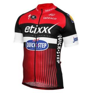 Boutique Maillot Cyclisme Manche Courte Etixx-Quick Step TDF Edition Rouge 2017 En Ligne