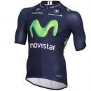 Boutique Maillot Cyclisme Manche Courte Movistar Equipe 2016 En Ligne