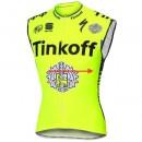 Boutique de 2017 Tinkoff Race Equipe Maillot Sans Manches