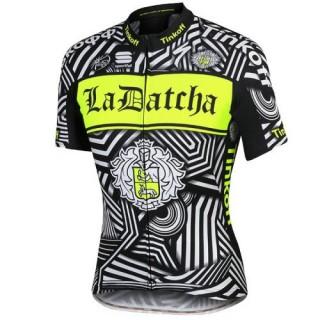 Boutique de Maillot Cyclisme Manche Courte Tinkoff Training Noir 2017