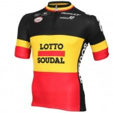 Boutique officielleMaillot Cyclisme Manche Courte Lotto Soudal Belgique Champion 2016