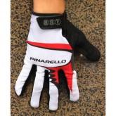 En ligne 2014 Pinarello Blanc et Rouge Thermal Gant Cyclisme