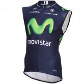 En ligne 2016 Movistar Equipe Maillot Sans Manches