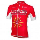 En ligne Maillot Cyclisme Manche Courte Cofidis Equipe 2017