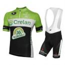 Equipement 2016 Tenue Maillot Cyclisme Courte + Cuissard à Bretelles Equipe Crelan AA Drink Pas Cher Nice