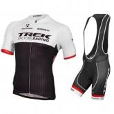 Equipement 2016 Tenue Maillot Cyclisme Courte + Cuissard à Bretelles Trek Factory Racing Soldes Nice