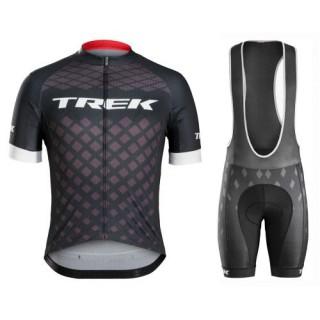 Equipement 2017 Bontrager Trek Specter Noir Tenue Maillot Cyclisme Courte + Cuissard à Bretelles au Meilleur Prix