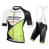 Equipement 2017 Multivan Merida Biking Equipe Tenue Maillot Cyclisme Courte + Cuissard à Bretelles à Vendre