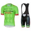 Equipement 2017 Tenue Maillot Cyclisme Courte + Cuissard à Bretelles Cannondale Garmin Equipe TDF Edition Vendre Paris