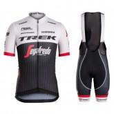 Equipement 2017 Tenue Maillot Cyclisme Courte + Cuissard à Bretelles Equipe Trek Segafredo RSL TDF Edition Promos