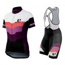 Equipement 2017 Tenue Maillot Cyclisme Courte + Cuissard à Bretelles Pearl Izumi Elite LTD Femme Promos Code