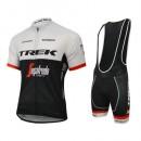 Equipement 2017 Trek Segafredo Tenue Maillot Cyclisme Courte + Cuissard à Bretelles Promo prix