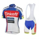 Equipement Tenue Maillot Cyclisme Courte + Cuissard à Bretelles  Tinkoff Equipe TDF Edition3 Prix France