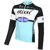 France Maillot de Cyclisme Manche Longue Etixx-Quick Step 2016