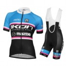 La Boutique Officielle Equipement 2016 Tenue Maillot Cyclisme Courte + Cuissard à Bretelles Ikon Mazda Femme