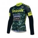 La Boutique Officielle Maillot de Cyclisme Manche Longue TINKOFF SAXO BANK