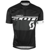 La Collection 2017 Maillot Cyclisme Manche Courte Scott Equipe Noir-gris 2017