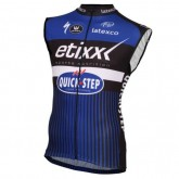 Magasin 2017 Etixx-Quick Step Bleu Maillot Sans Manches Paris