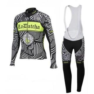 Magasin Equipacion TINKOFF SAXO BANK LA DATCHA conjunto maillot + culotte largo verde Paris