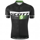 Magasin Maillot Cyclisme Manche Courte Scott RC Pro Noir-vert 2016 Paris