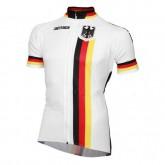 Maillot Cyclisme Manche Courte Allemagne Equipe 2017 Rabais prix