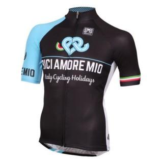 Maillot Cyclisme Manche Courte Bici Amore Mio 2017 Boutique France