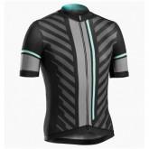 Maillot Cyclisme Manche Courte Bontrager Ballista Noir-vert 2017 Prix En Gros