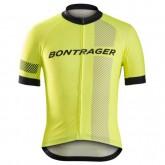 Maillot Cyclisme Manche Courte Bontrager Specter Jaune 2017 Site Officiel