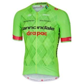 Maillot Cyclisme Manche Courte Cannondale Garmin Equipe TDF Edition 2017 en Promo
