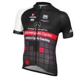Maillot Cyclisme Manche Courte Equipe Achieve Benz Noir 2016 à Vendre