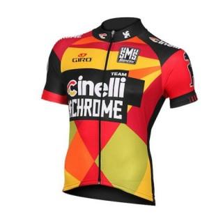 Maillot Cyclisme Manche Courte Equipe Cinelli Chrome 2016 Site Francais